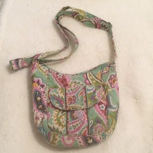 Green Vera Bradley Crossbody Bag